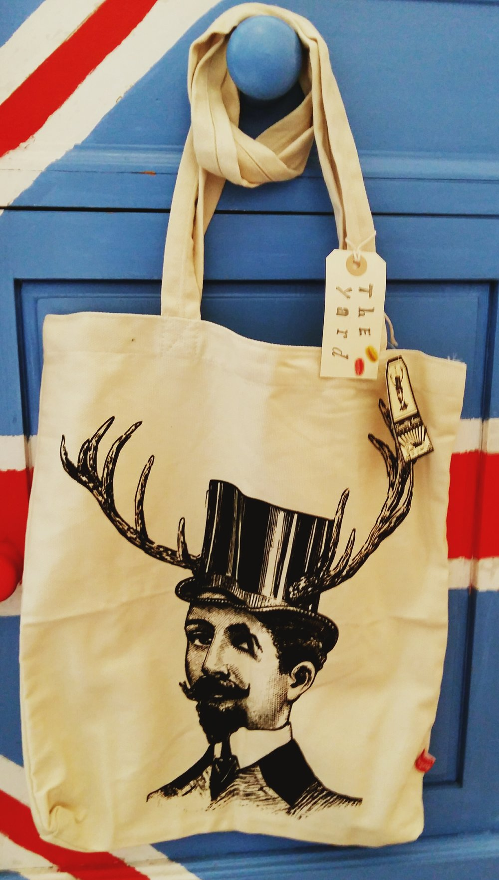 Alternative to a stocking this handsome tote bag is £5