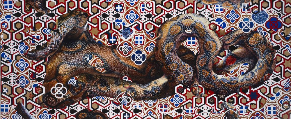 Odalisque   Oil on Canvas    31 x 74 inches (79 x 189   cm) 2016