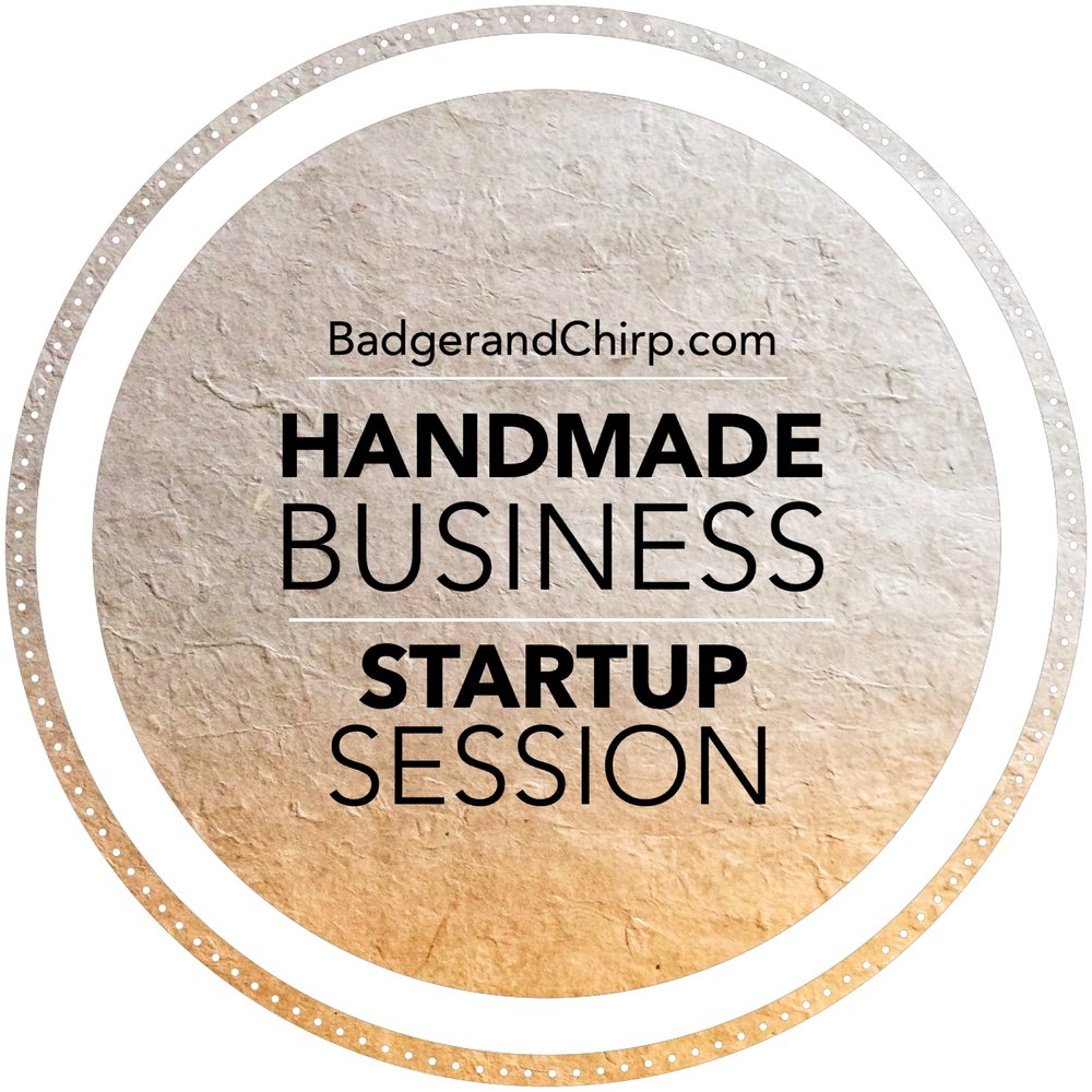 Handmade Business Startup Session  - There are many aspects to starting a handmade business online. This 90 minute Handmade Business Startup Session is customized specifically to the items you make and sell, as well as your lifestyle. We cover everything you might need from taking photographs to the legalities of having an online business. All tailored to your items and your lifestyle.Investment: $97