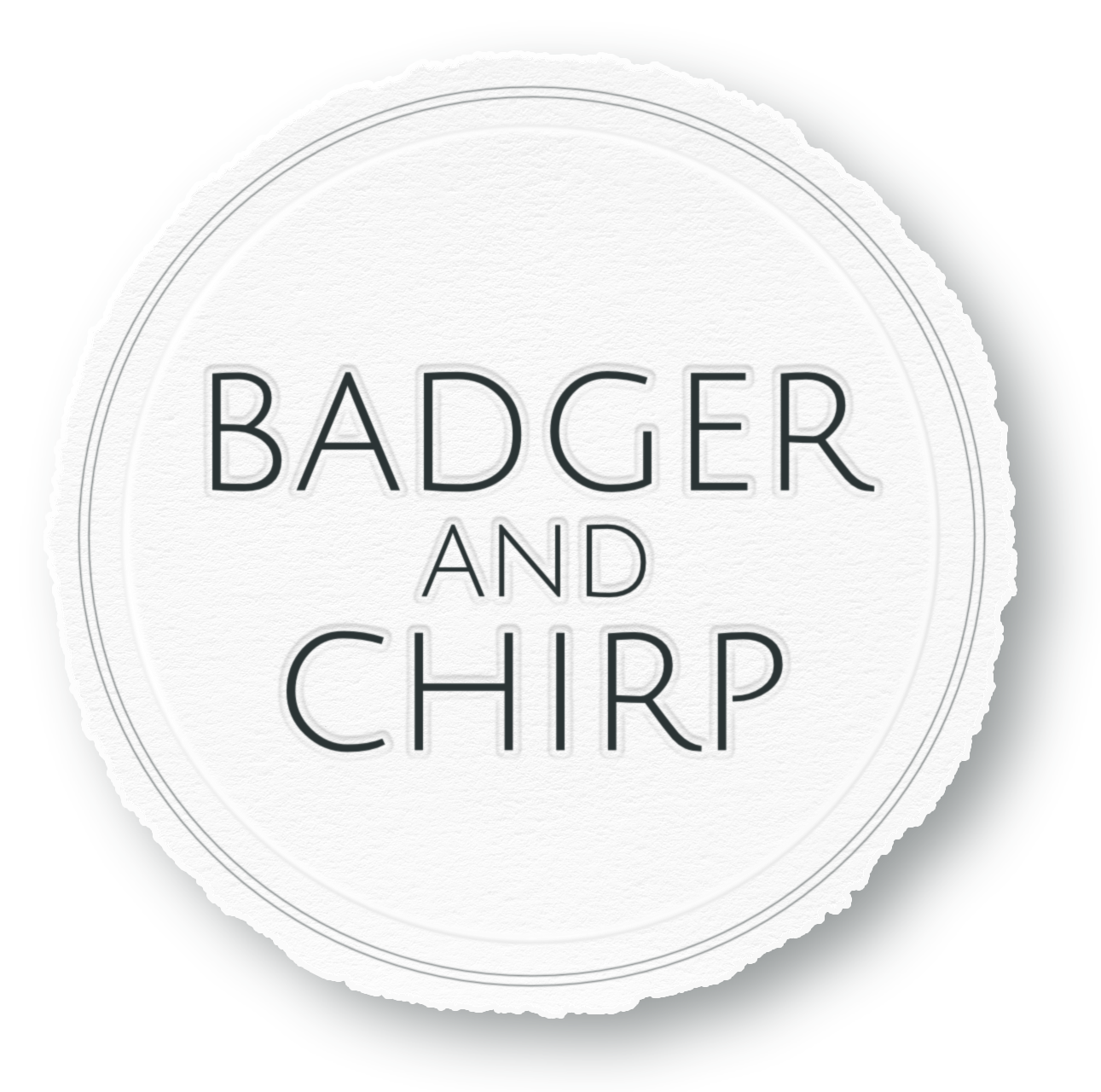 Badger and Chirp
