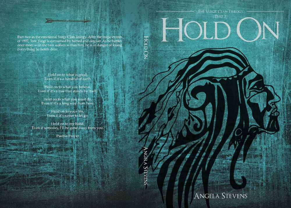 Hold On cover design by Daisy Stevens.