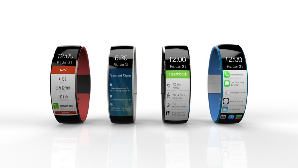 This is a concept of what an iWearable could look like. This is not the final product.