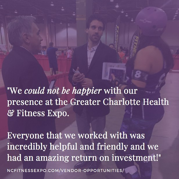 TO-DO TUESDAY ☑️ Sign your business up to be a partner for our next Fitness Expo (3/16/19) at @cabarrusarena. See what other businesses like yours thought & snag more details on our site. Link in profile.