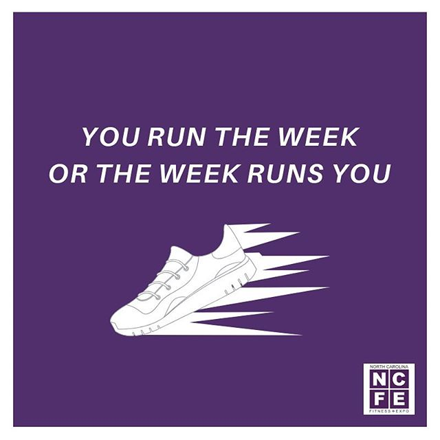 Put on the right shoes and show this week who's in control 💪