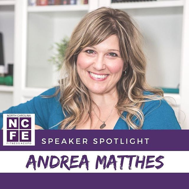 "We're excited to share one of this Spring's speakers with you Andrea Matthes, of @imperfectlife2.  From 328 lbs to Triathlete, Andrea Matthes transformed her life from the inside out and now teaches others how to create true lifestyle change (physically, mentally and emotionally) through workshops, group coaching and one-on-one consultations.  She is best known for her viral blog post, ""10+ Reasons I Love My Ugly Body,"" which has improved the way millions of women (and men) perceive food, fitness and their bodies.  Andrea is a writer, personal trainer, lifestyle coach, and motivational speaker who added ""Mom"" to her title in April 2016. With two boys, 9 months and 2.5 years old, triathlons are on hold for now. Her body is a bit larger and heavier (and a lot mushier) as life is basically sleepless nights, diaper changes and constant chaos, but that doesn't stop her from doing her best to live a happy, healthy lifestyle.  Andrea is the founder of I'mperfect Life, LLC and creator of www.imperfectlife.com a website and business dedicated to inspiring others to let go of perfection to live a happy, healthy lifestyle.  She may be running late, covered in crumbs and wearing yesterday's mascara, but she's still on a mission to inspire everyone to embrace their own happy, healthy,  At the Expo, Andrea is going to share her 12 Rules for Living a Happy, Healthy I'mperfect Life. They are the foundation for her life and her coaching practice, providing a refreshing perspective on what it means to be happy and healthy. She starts with forgiveness, then moves on to food, fitness, self-care, and more; her rules promote self-love while also working towards self-improvement."