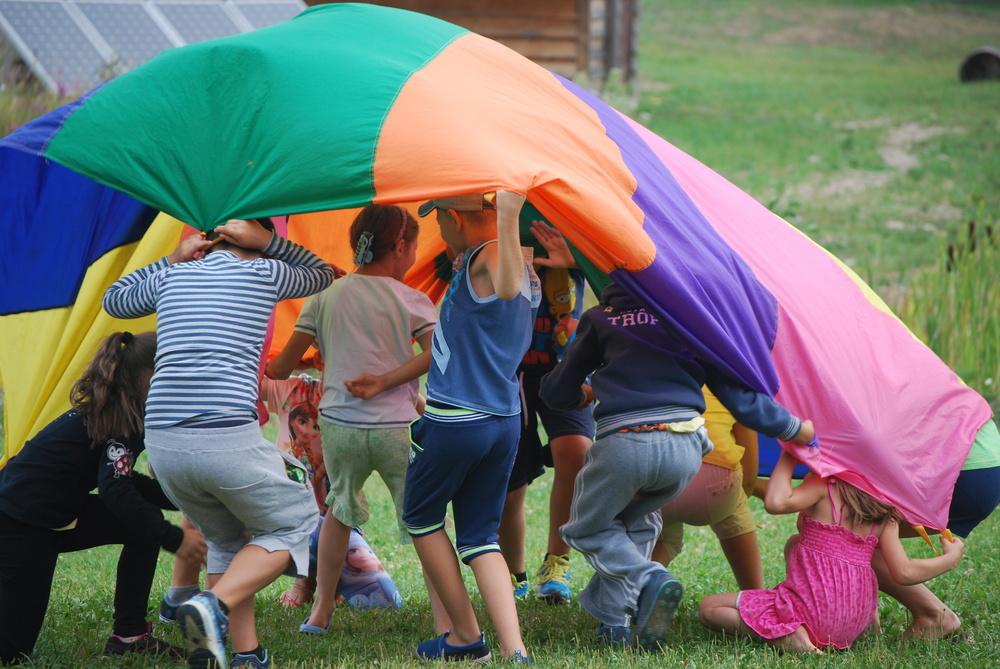 ...parachute games,