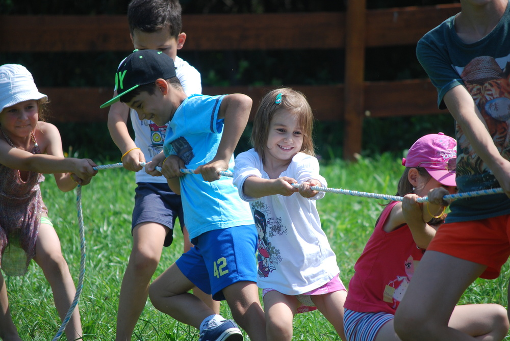Tug of War is sure to bring smiles no matter how big or little you are!