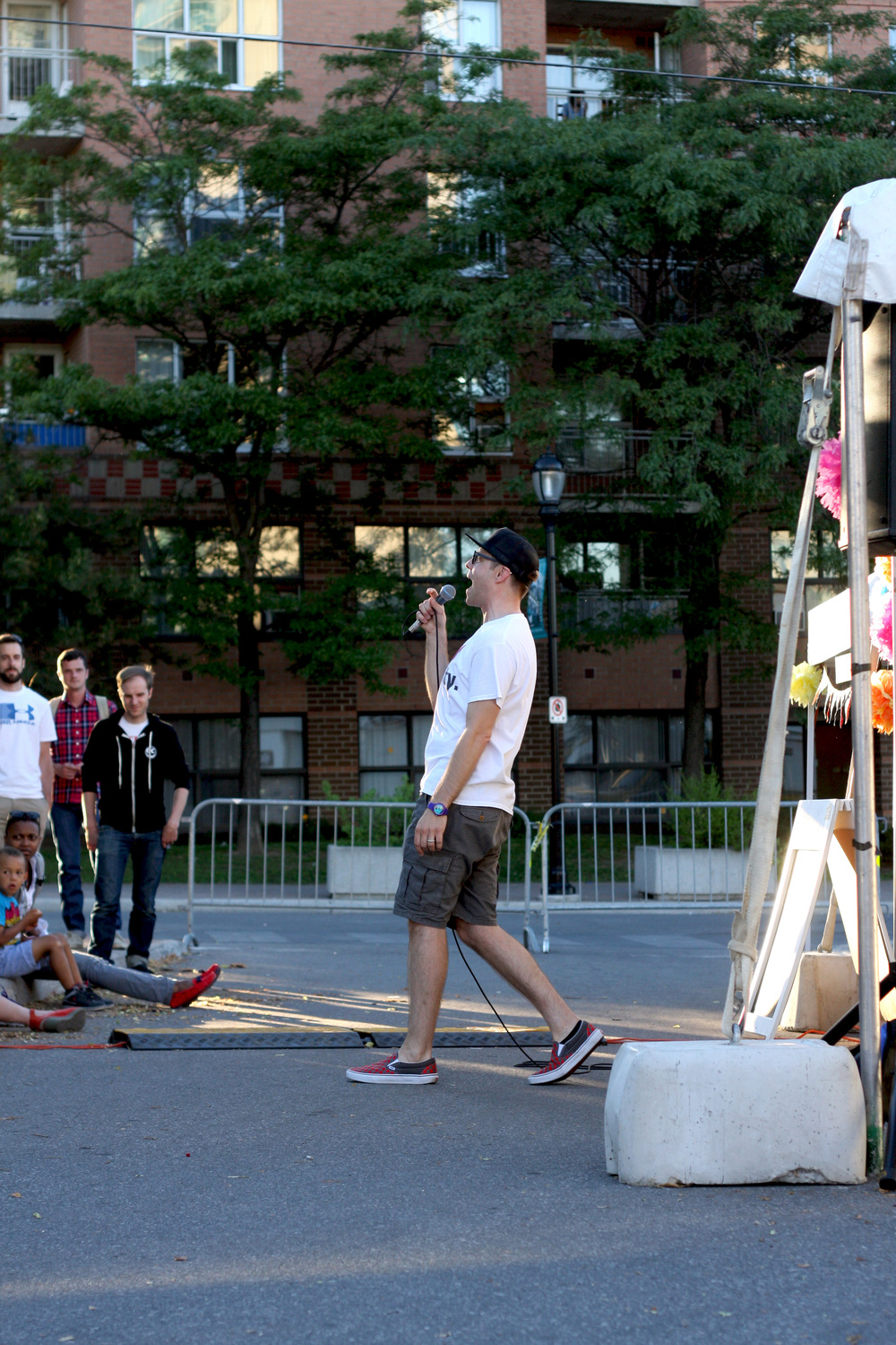 Peter Joynt Hintonburg Happening - Pic by Michael Napiorkowski