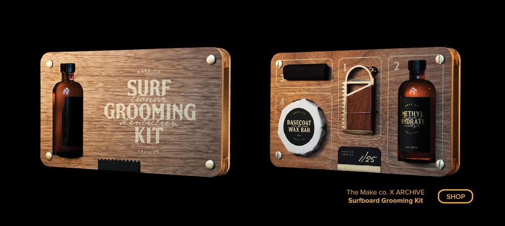 The Surfboard Grooming Kit