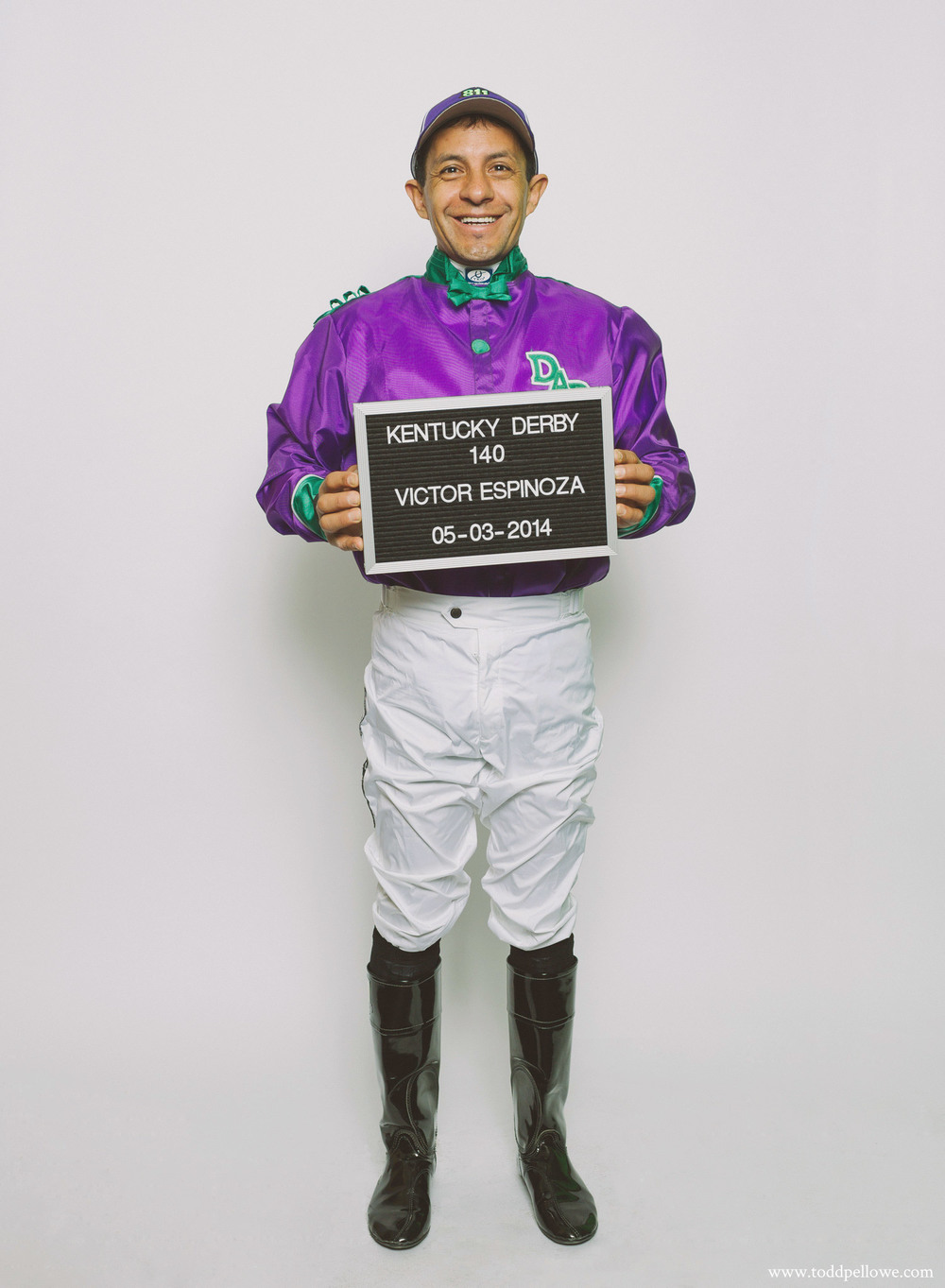 Victor Espinoza, Kentucky Derby 140 Winner
