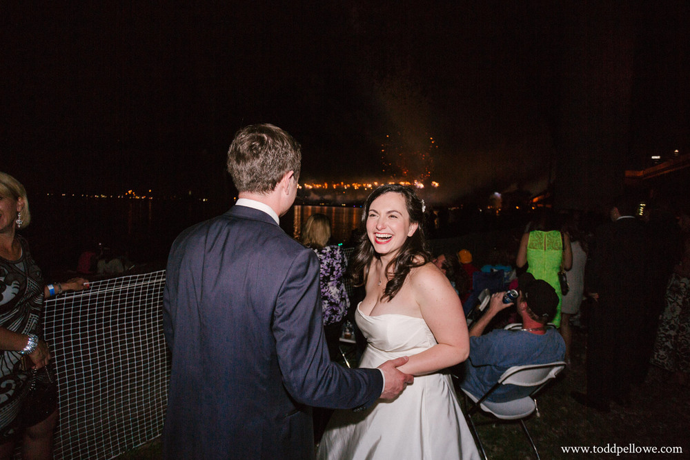 Thunder over Louisville wedding