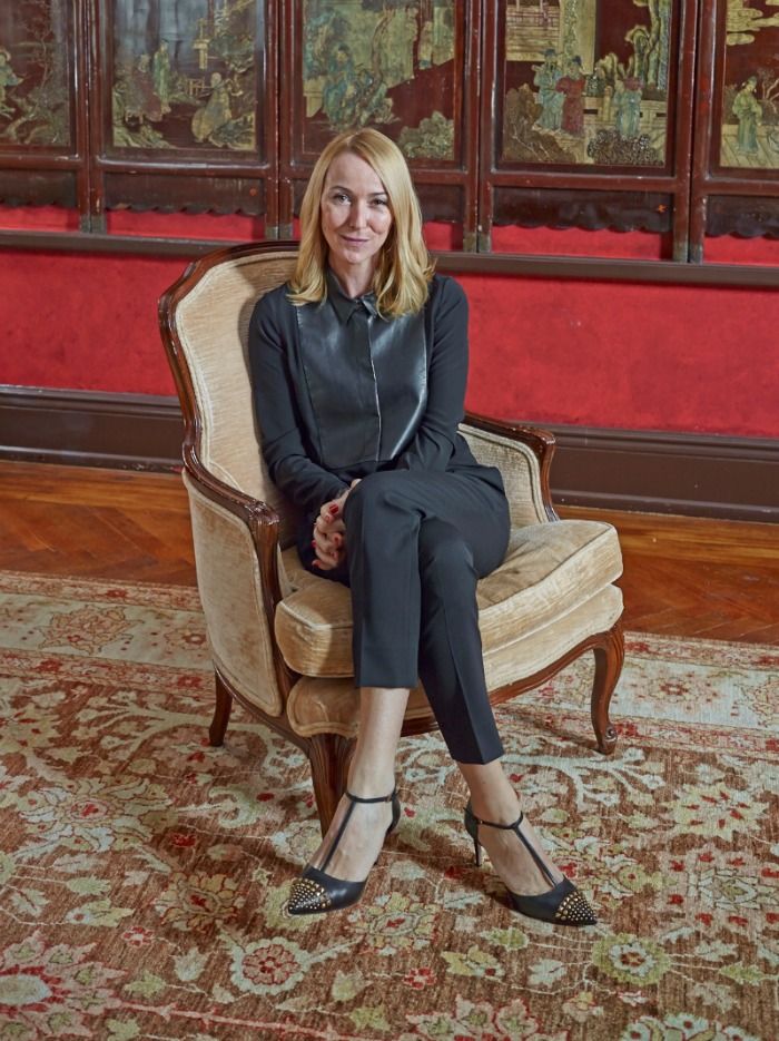 Frida Giannini at the Carlyle Hotel in New York.