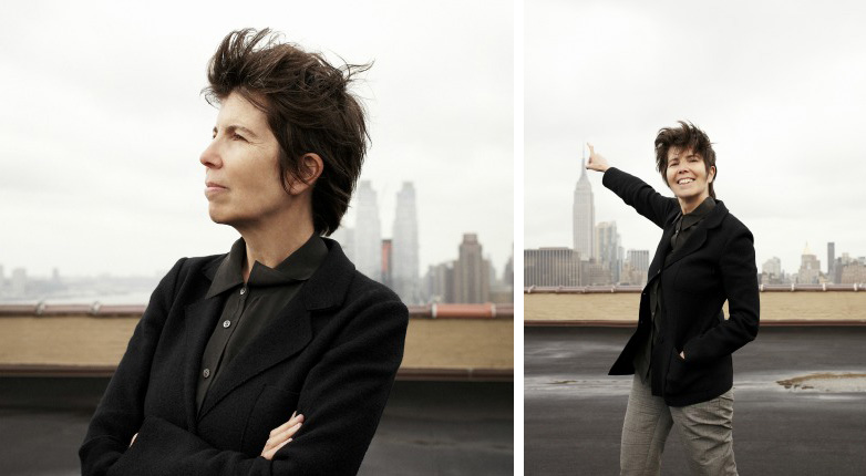 Elizabeth Diller on the building that houses her firm's office in New York's Chelsea neighborhood.