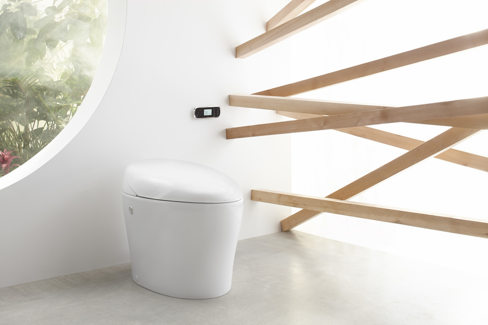 Kohler's Karing Integrated Toilet