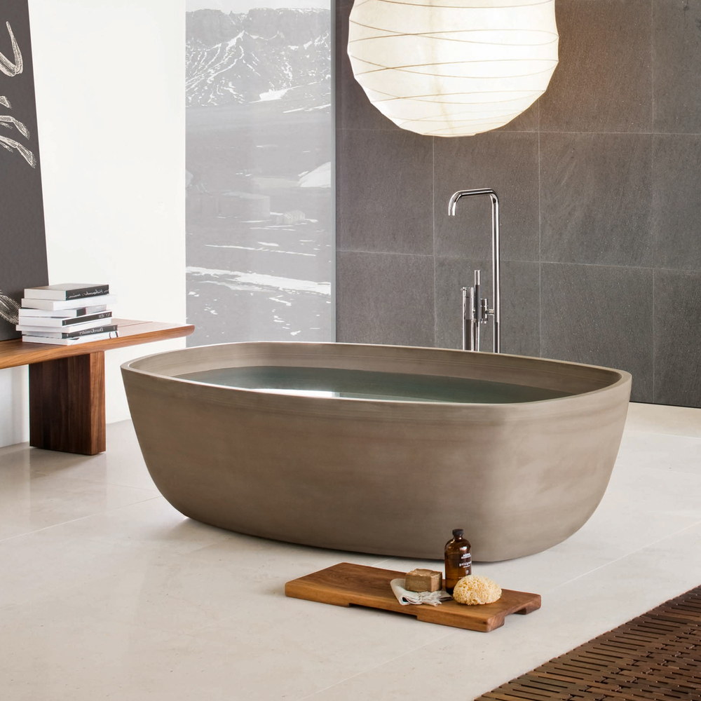 Neutra's Inkstone Bathtub