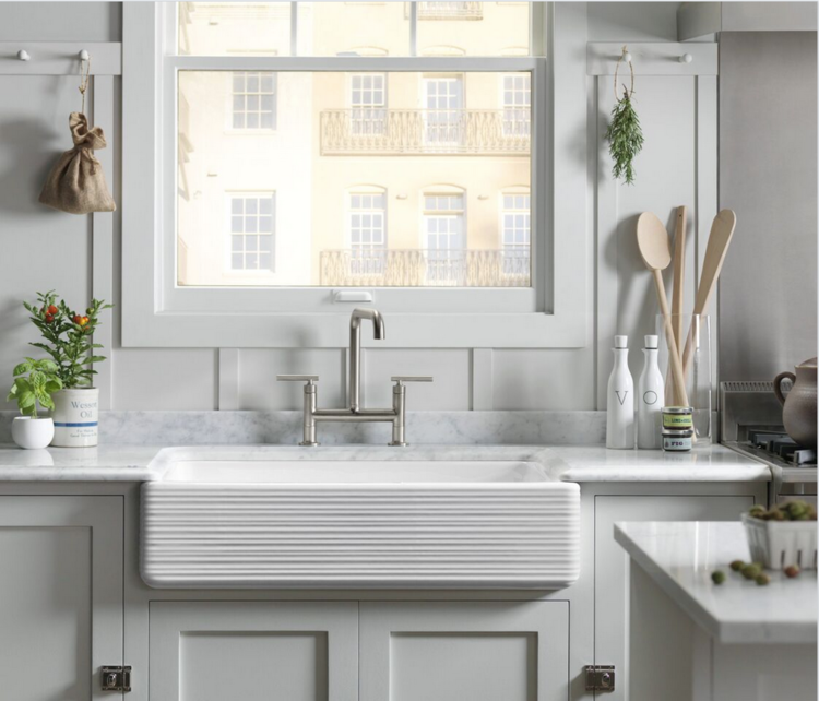 Kohler's Whitehaven Hayridge Sink