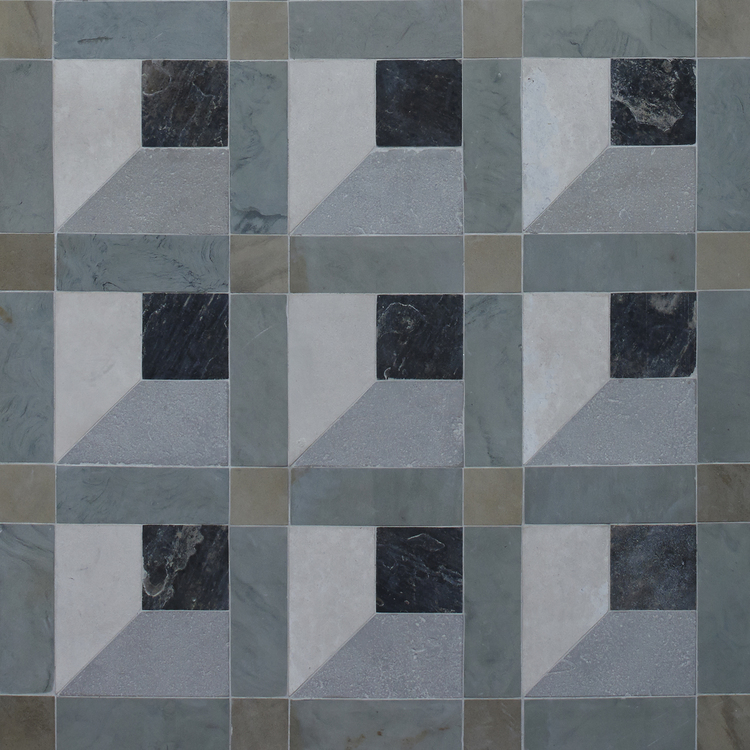 Genuine Antique British Reclaimed Geometric Tiles