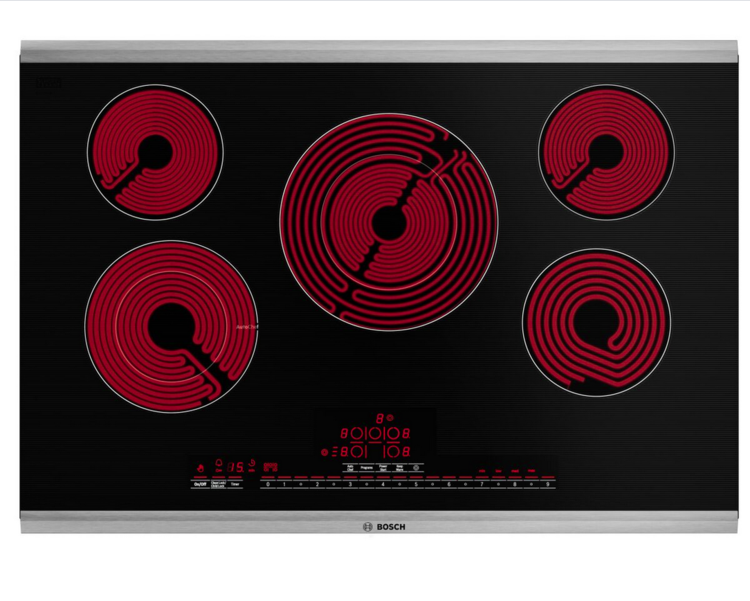 Bosch's Electric Cooktop