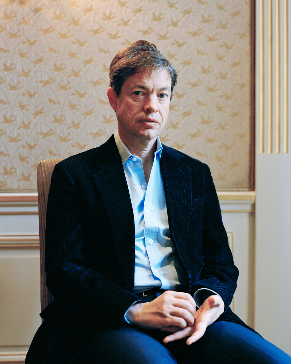 Nicolas Berggruen in London at Claridge's Hotel.