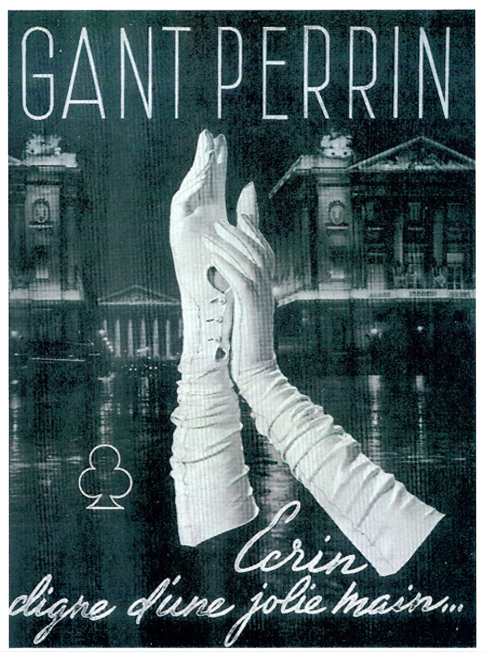 A vintage advertisement from Perrin Paris. (Photo: Courtesy Perrin Paris)