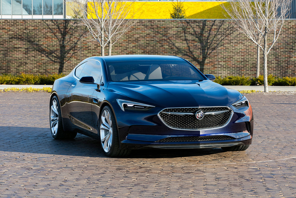 The Buick Avista concept. (Photo: Courtesy Buick)