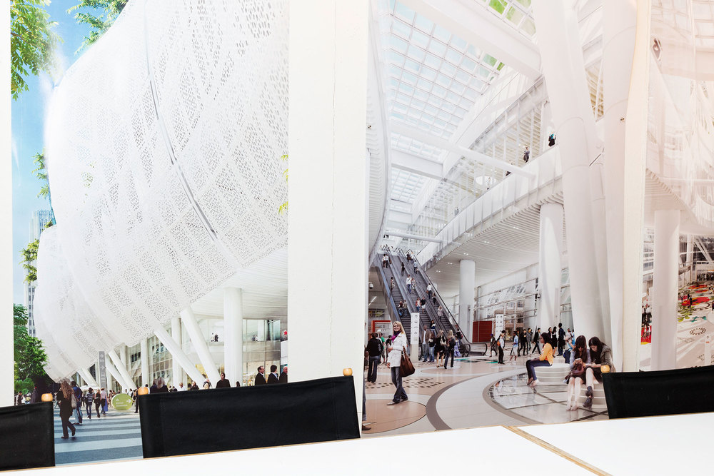 Renderings of San Francisco's Transbay Transit Center. (Photo: Eva O'Leary/Surface)