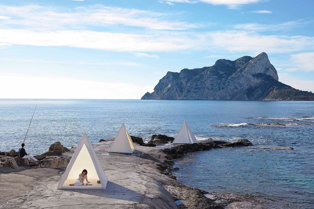 Gigante wigwams designed by José A. Gandía-Blasco. (Photo: Courtesy Gandia Blasco)