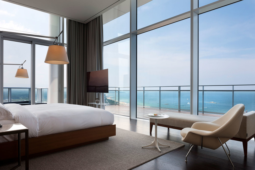 A presidential suite at the Seamarq. (Photo: Park Young Chae)