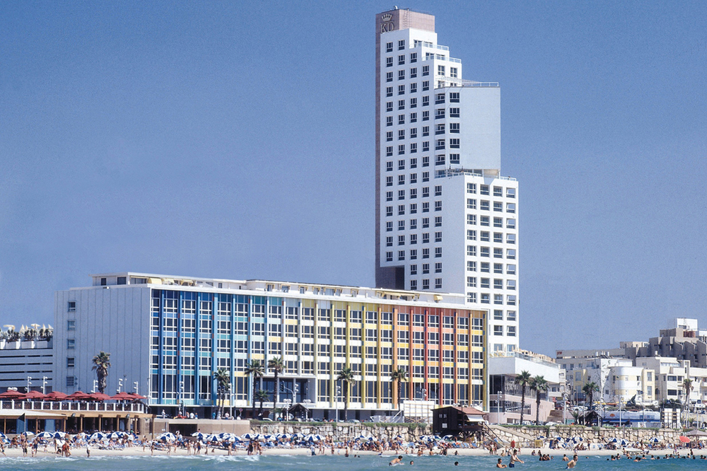 A view of the Dan Tel Aviv, which overlooks the Mediterranean Sea. (Photo: Courtesy the Dan)