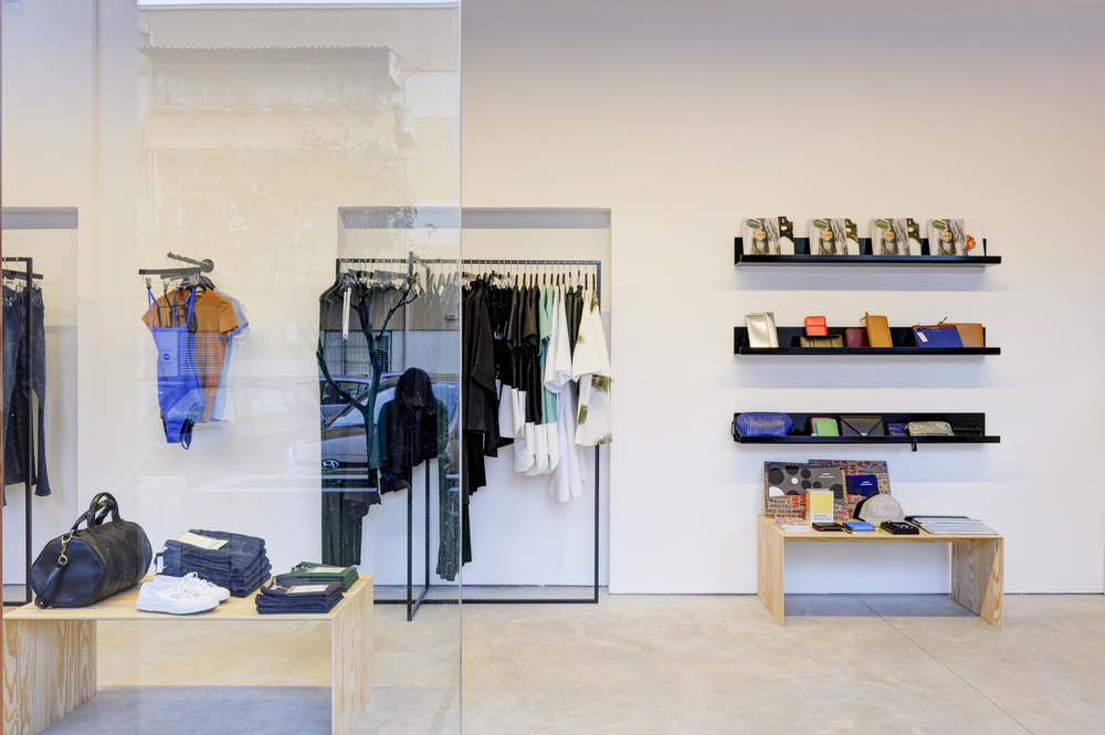 Interior of the Verner Boutique. (Photo: Courtesy Verner)