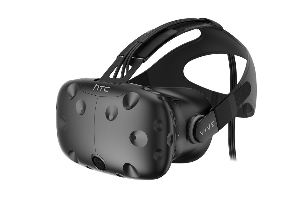 HTC Vive virtual reality head-set (Photo: Courtesy HTC)