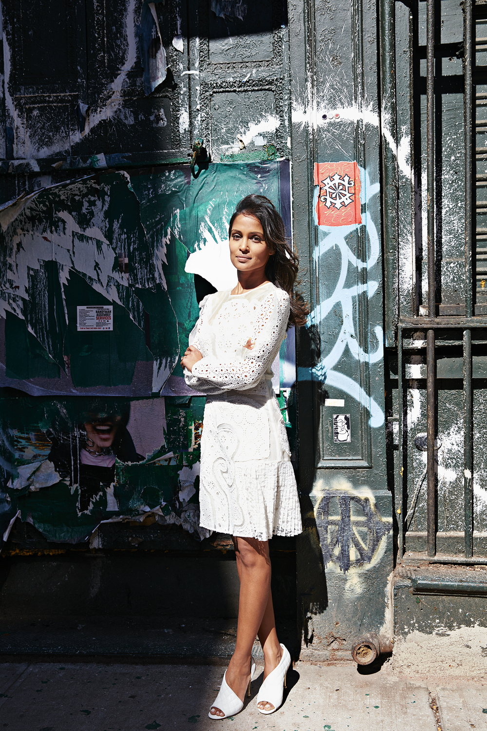 Kinjil Mathur in New York City. (Photo: Jessica Antola)