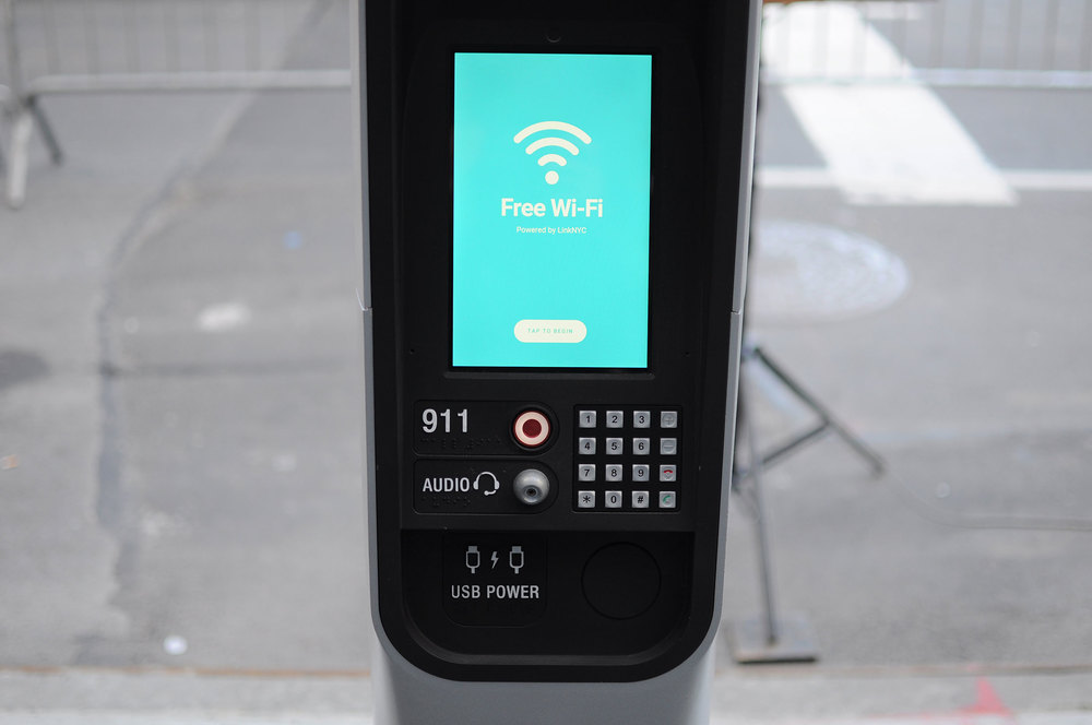Free public Wi-Fi has arrived in New York City. (Photo: Courtesy CityBridge)