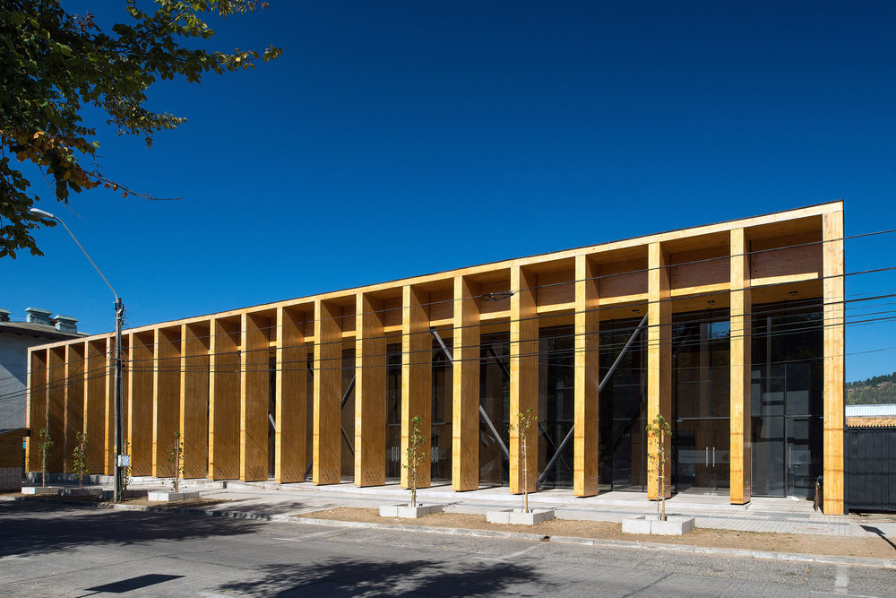 The Constitución Cultural Center in Chile. (Photo: Felipe Diaz)