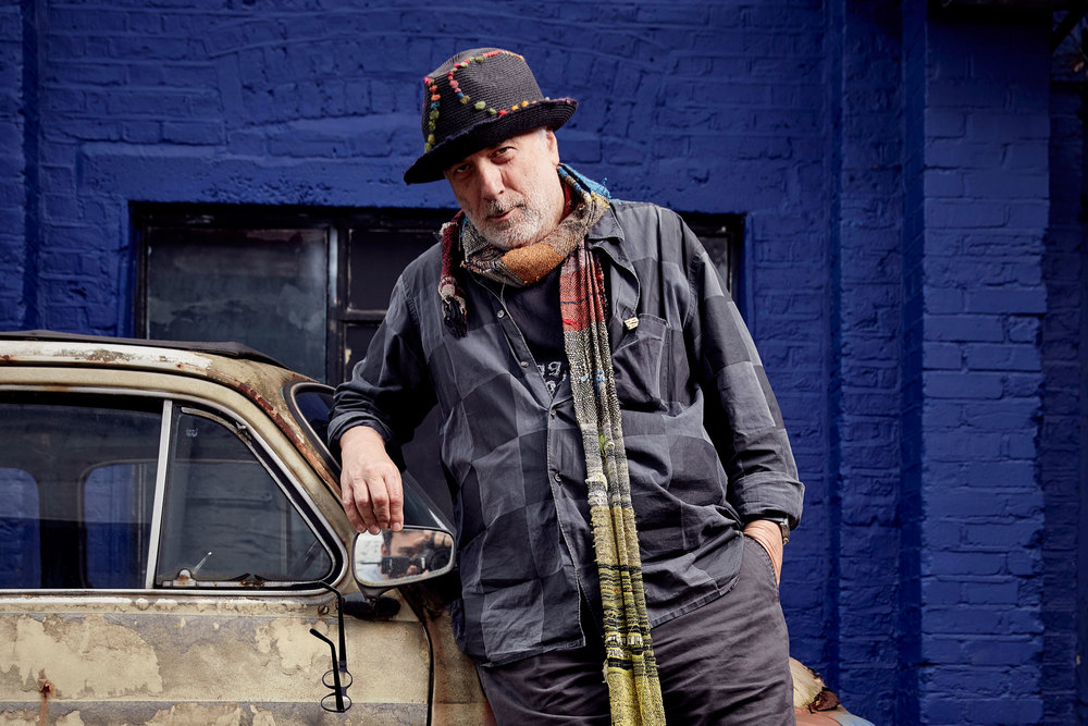 Ron Arad (Photo: Mark Cocksedge/Surface)