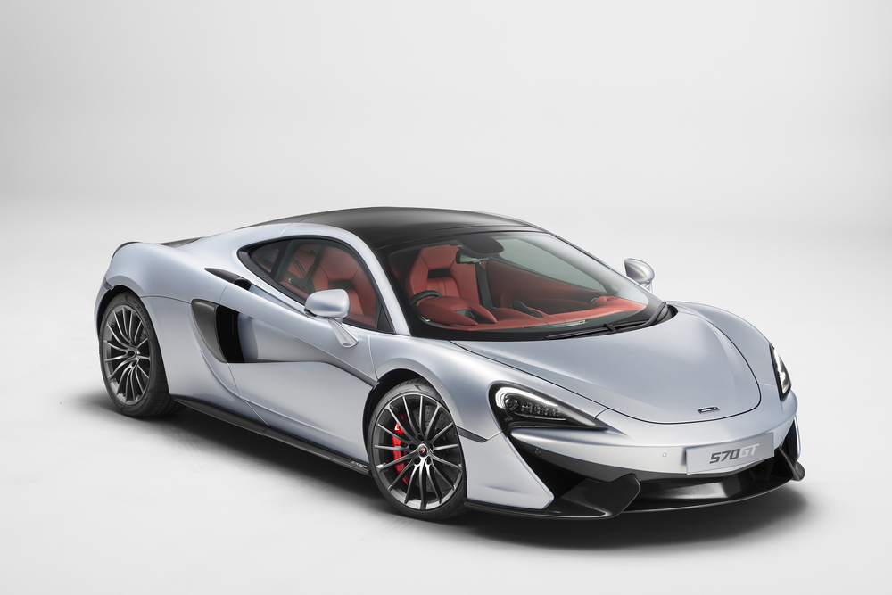 The new McLaren 570GT Coupe. (Photo: Courtesy McLaren Automotive)