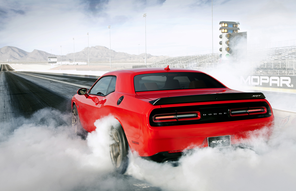 Another view of the 2016 Dodge Challenger SRT Hellcat. (Photo: Courtesy Fiat Chrysler Automobiles)