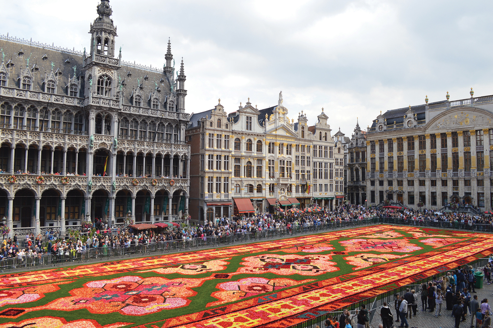 Grand Palace of Brussels Flower Carpet (Photo: Stephen Clarkson)