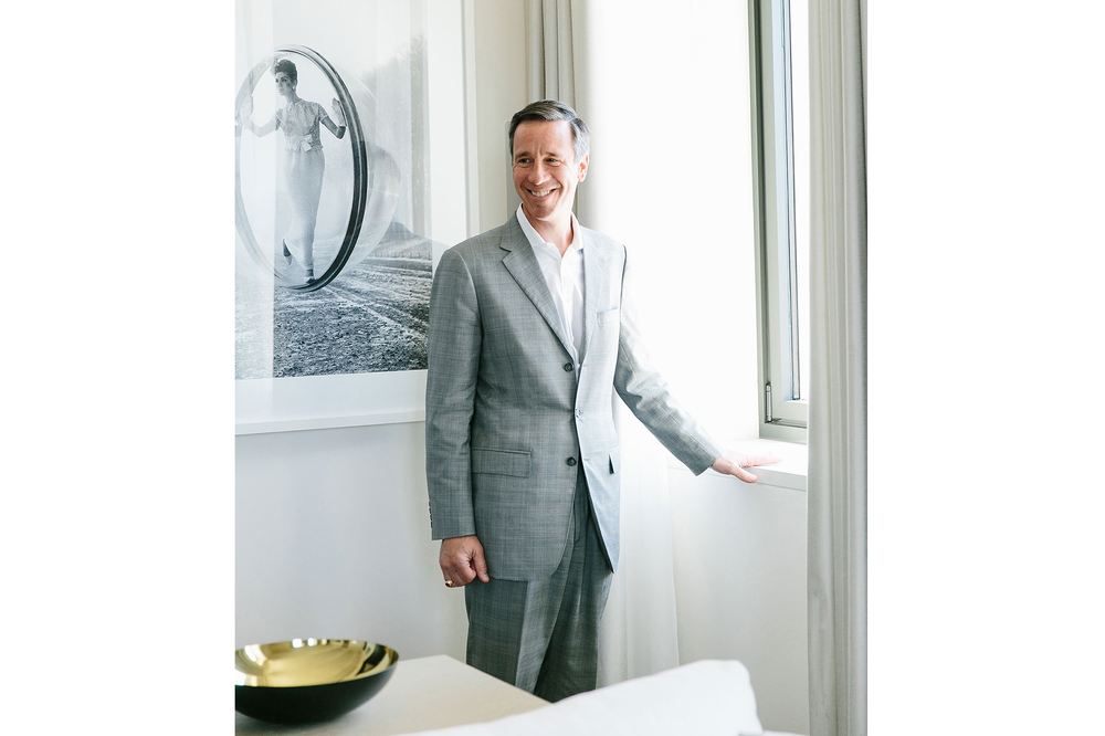 Arne Sorenson at New York Edition hotel. (Photo: Tawni Bannister/Surface)