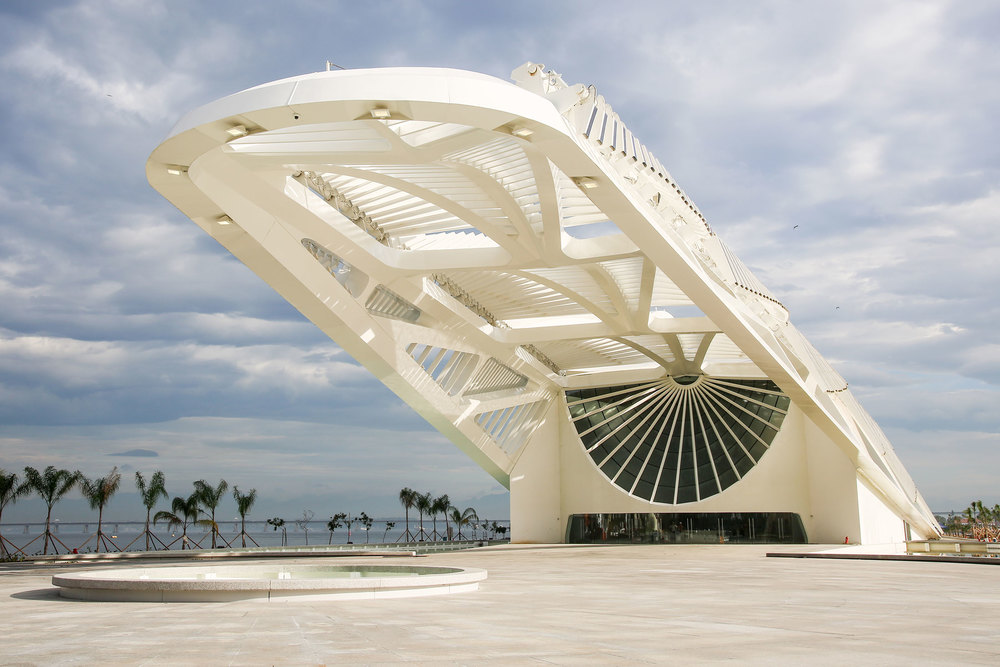 The Entrance to the Museum of Tomorrow (Photo: Courtesy The Museum of Tomorrow)