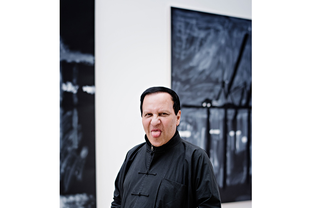 Alaïa inside the gallery. (Photo: Franck Juery/Surface)