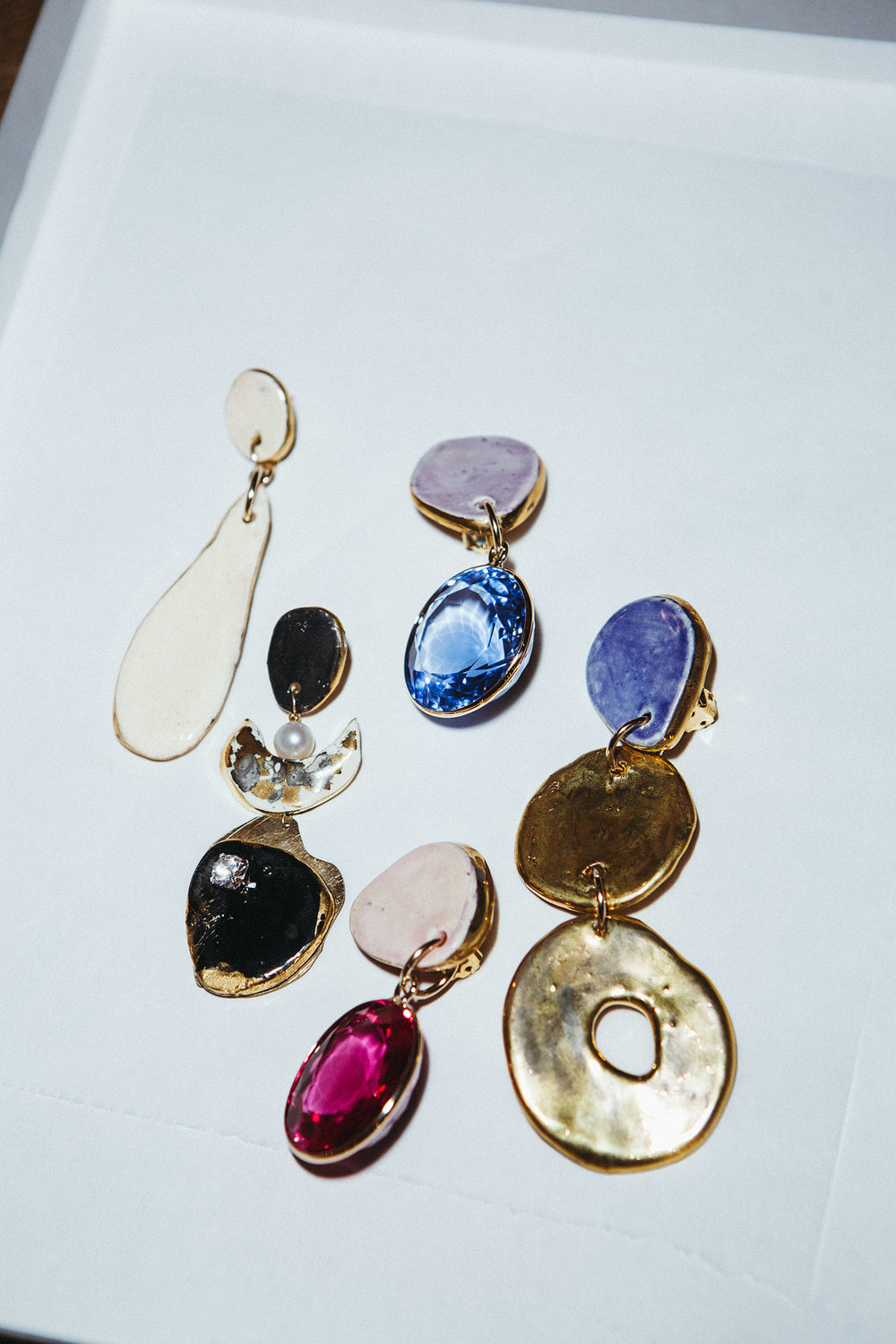 Earrings by Boyajian.  (Photo: G. L. Askew II/Surface)