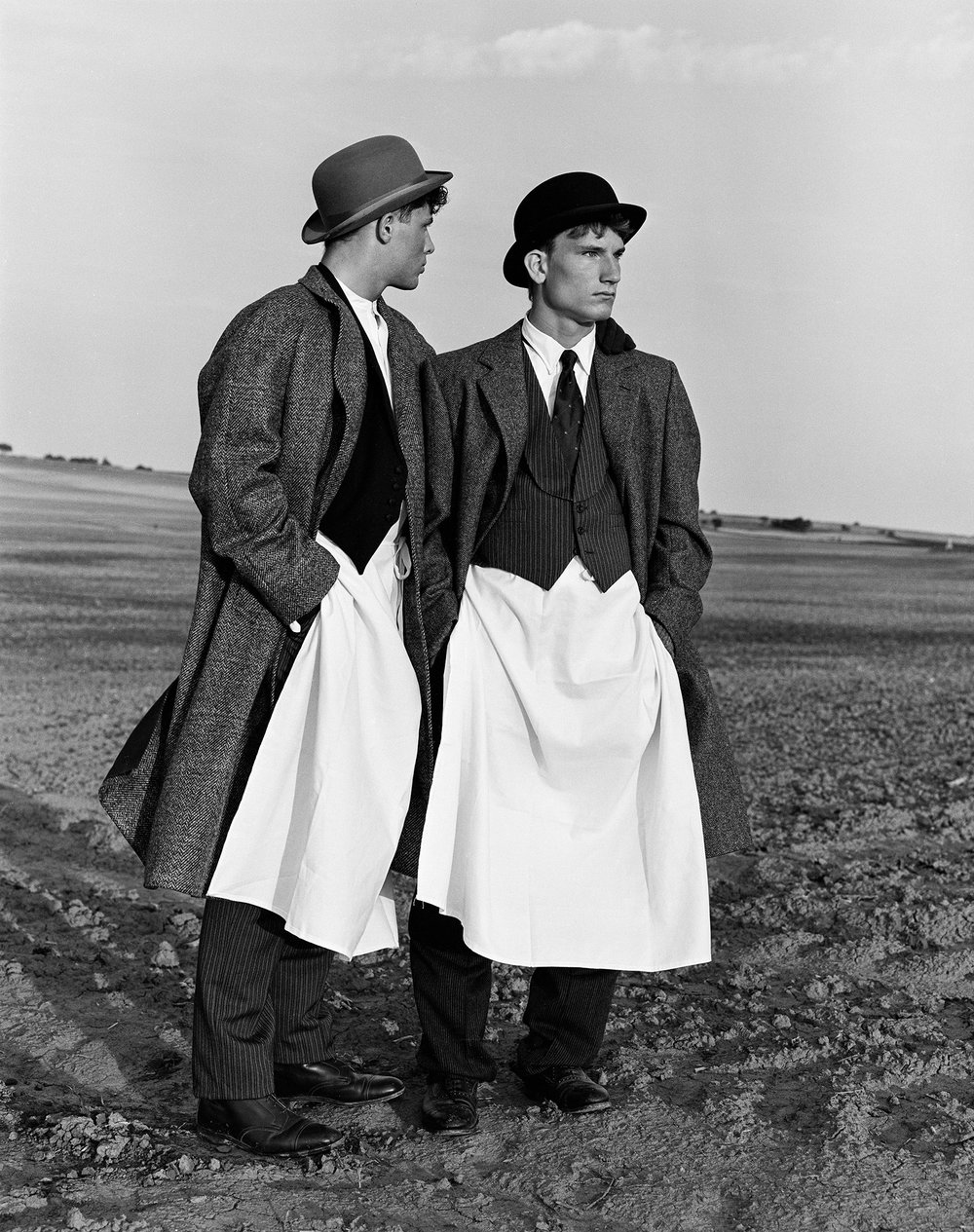 "Bruce Weber's ""Boys from Red Cloud, Nebraska Date"" (1981). (Photo: Courtesy Dallas Contemporary)"