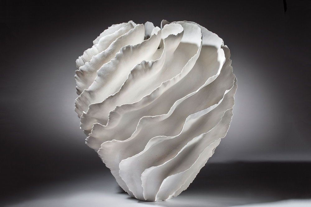 Sculptural Vessel by Sandra Davolio