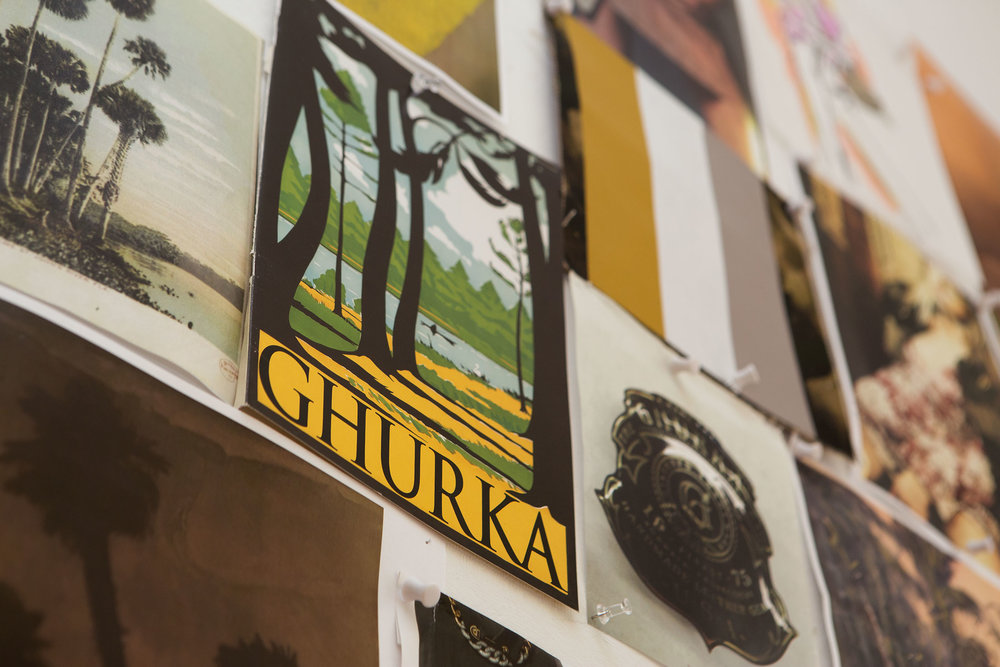 Art from the Ghurka archives.