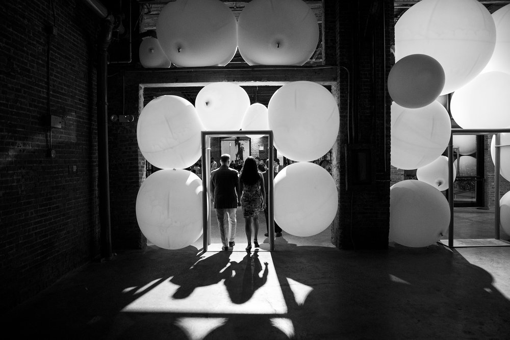 At last year's Beaux Arts Ball, an installation by Moorhead & Moorhead. (Photo: Leandro Viana)