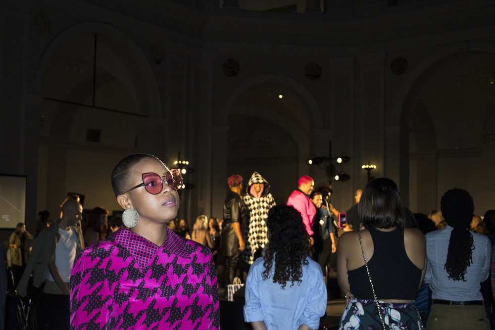 DapperQ's iD event at the Brooklyn Museum during New York Fashion Week. (Photo: Radhika Rajkumar/Surface)