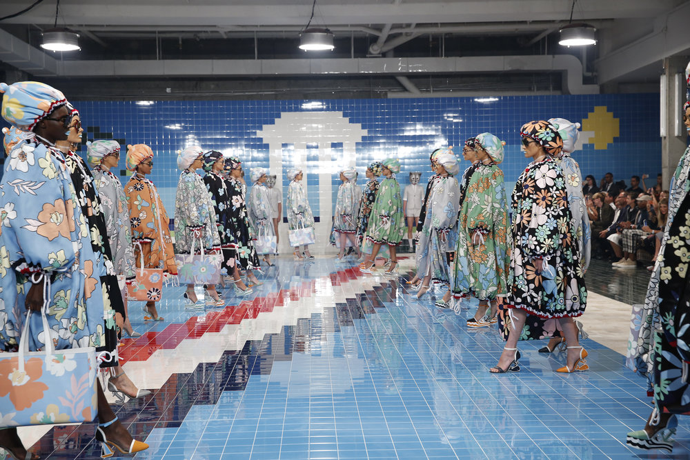 Work by Thom Browne shown during New York Fashion Week. (Photo: Courtesy Thom Browne)