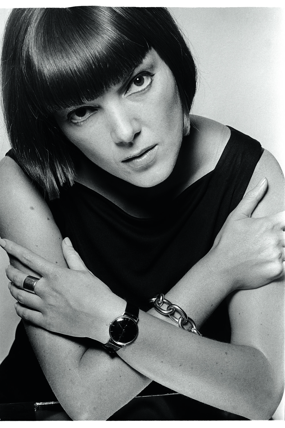 Mary Quant on July 18, 1963, for  Harper's Bazaar.