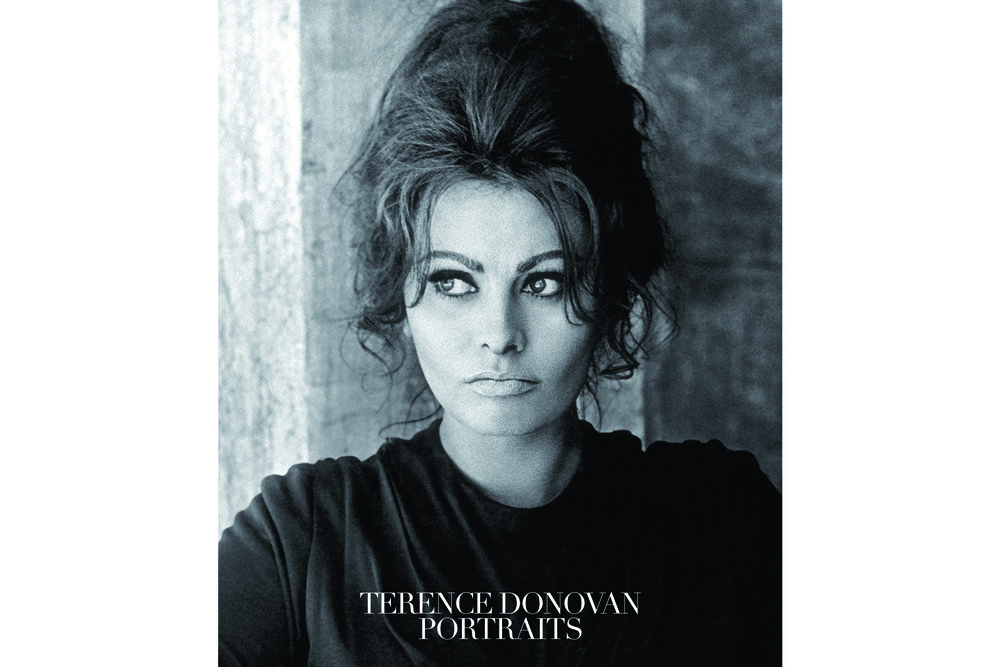The cover image is from a shoot that Terence Donovan did for Queen magazine with Sophia Loren in May of 1963, while she was on the set of Anthony Mann's The Fall of the Roman Empire.